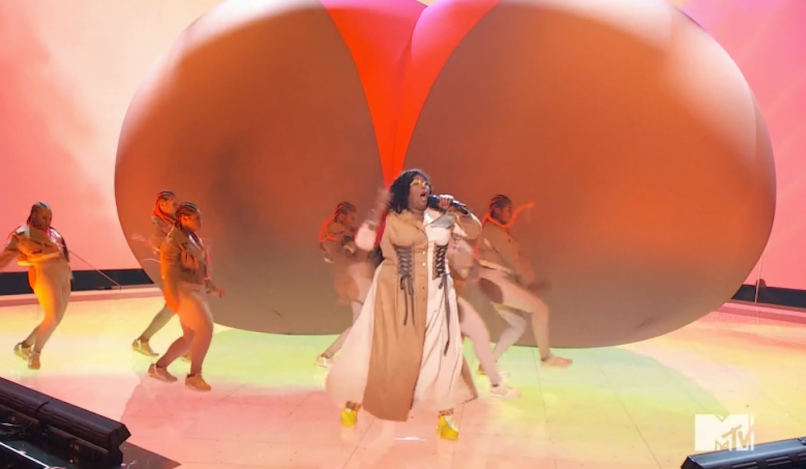 lizzo 2019 mtv vmas video performance