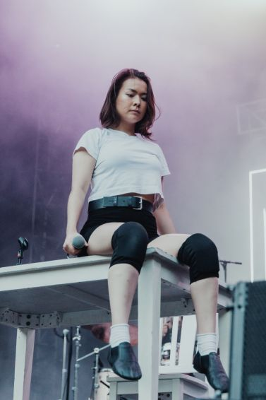 Mitski at Lollapalooza 2019, photo by Nick Langlois