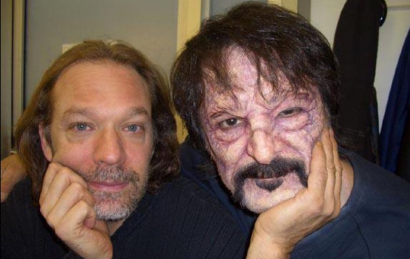 Greg Nicotero and Tom Savini, photo via Tom Savini Twitter