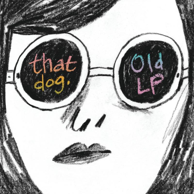that dog old lp album cover artwork