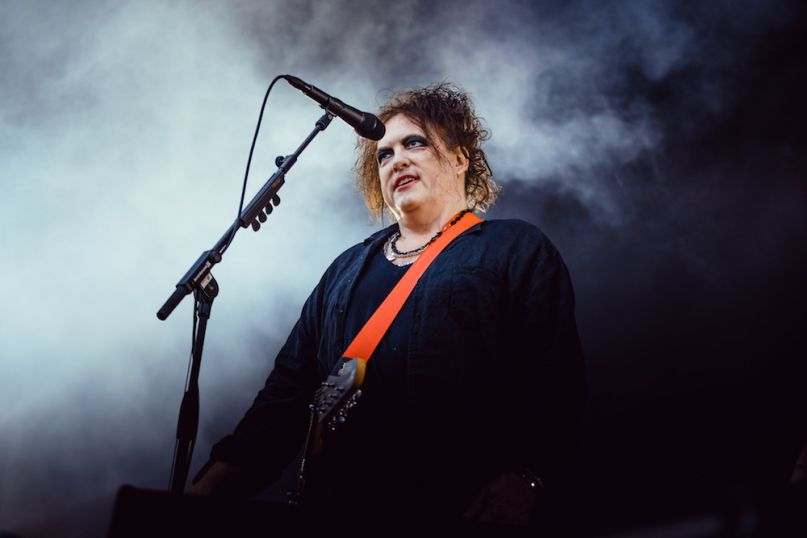 flow festival the cure