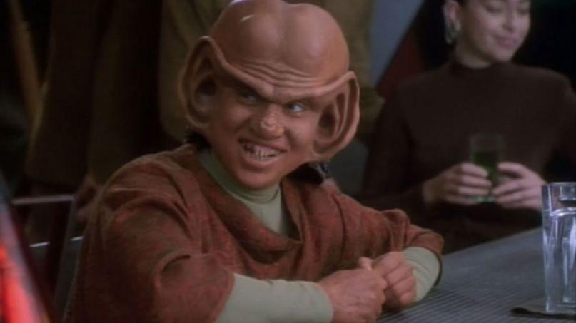 Aron Eisenberg as Nog in Star Trek: Deep Space Nine