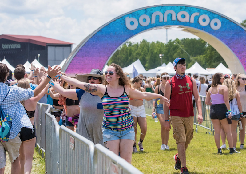 Bonnaroo Festival facial recognition technology