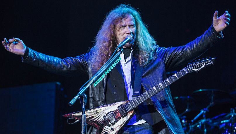 Megadeth's Dave Mustaine cancer update