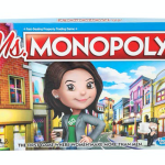 Monopoly female women new board game Ms Monopoly, photo via Hasbro
