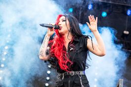 New Years Day at Louder Than Life