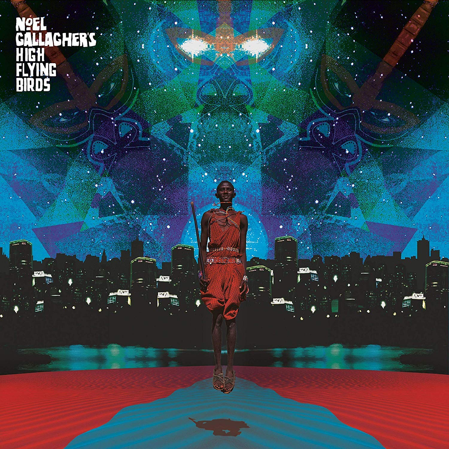 Noel Gallagher's High Flying Birds This is the Place EP artwork stream