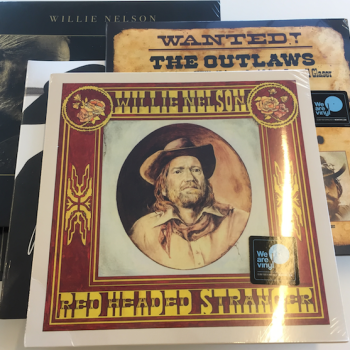 Willie Nelson vinyl giveaway red headed stranger the opus