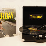 Win the Yesterday Blu-ray:DVD, Vinyl Soundtrack, and Portable Record Player