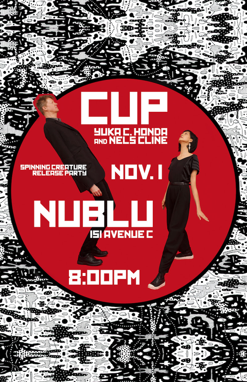 cup show poster Wilcos Nels Cline and Cibo Mattos Yuka C. Honda announce debut album as CUP