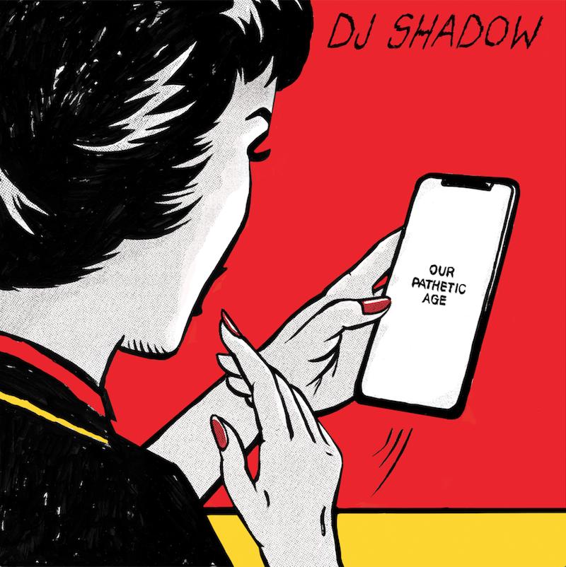 dj shadow our pathetic age album artwork DJ Shadow announces new album Our Pathetic Age, featuring Run the Jewels, Nas, De La Soul, and more