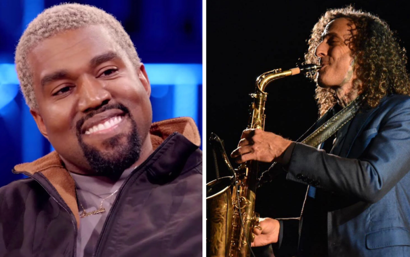 kanye kenny g collaboration studio