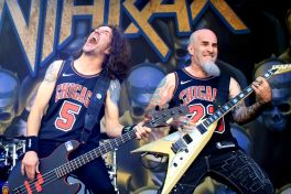 Anthrax at Riot Fest 2019, photo by Heather Kaplan