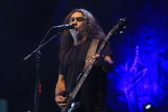 Slayer at Riot Fest 2019, photo by Heather Kaplan