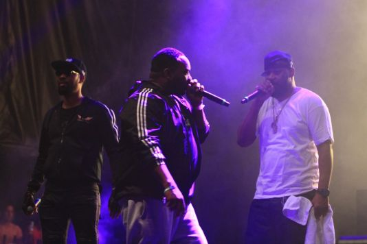 Wu-Tang Clan at Riot Fest 2019, photo by Heather Kaplan