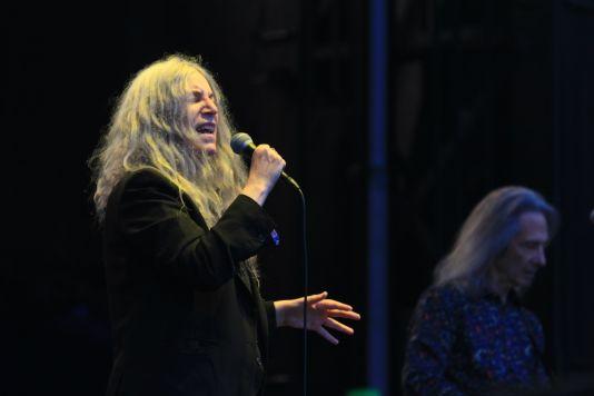 Patti Smith at Riot Fest 2019, photo by Heather Kaplan