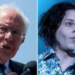 Bernie Sanders and Jack White (photo by Debi Del Grande)