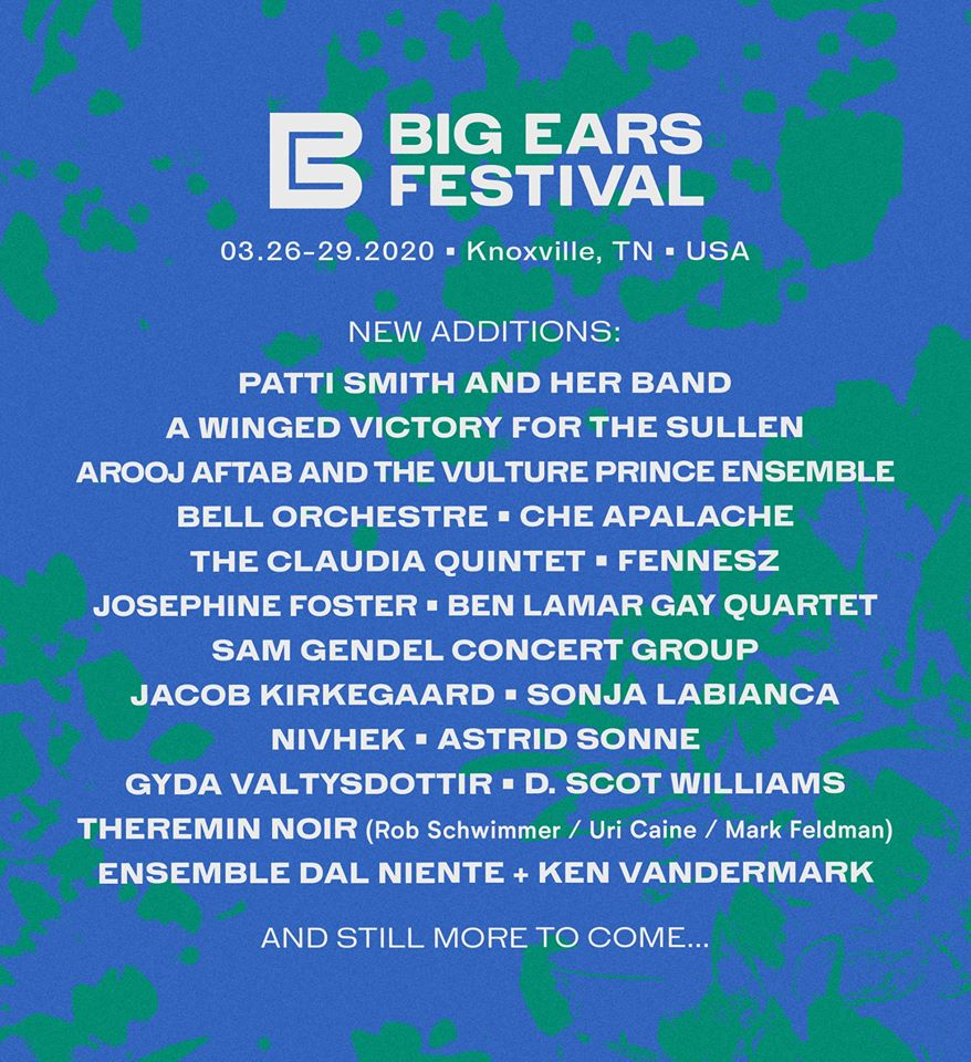 Big Ears 2020 additions