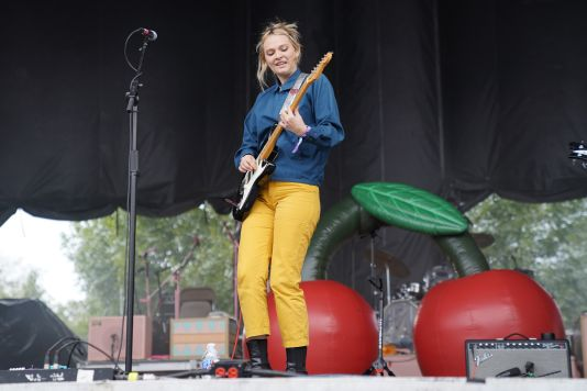Cherry Glazerr at Austin City Limits 2019, photo by Amy Price