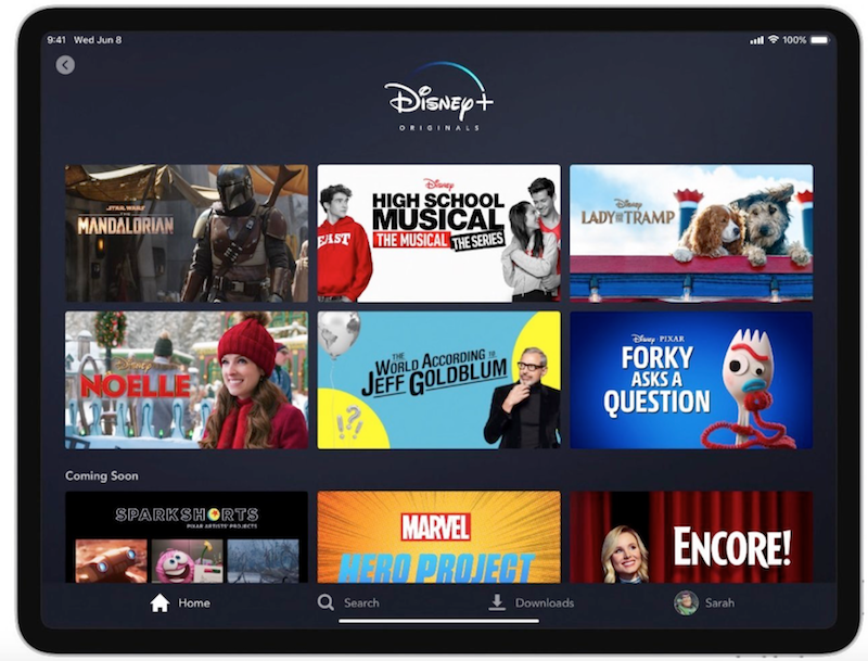 Disney+ Full Launch list tv shows movies