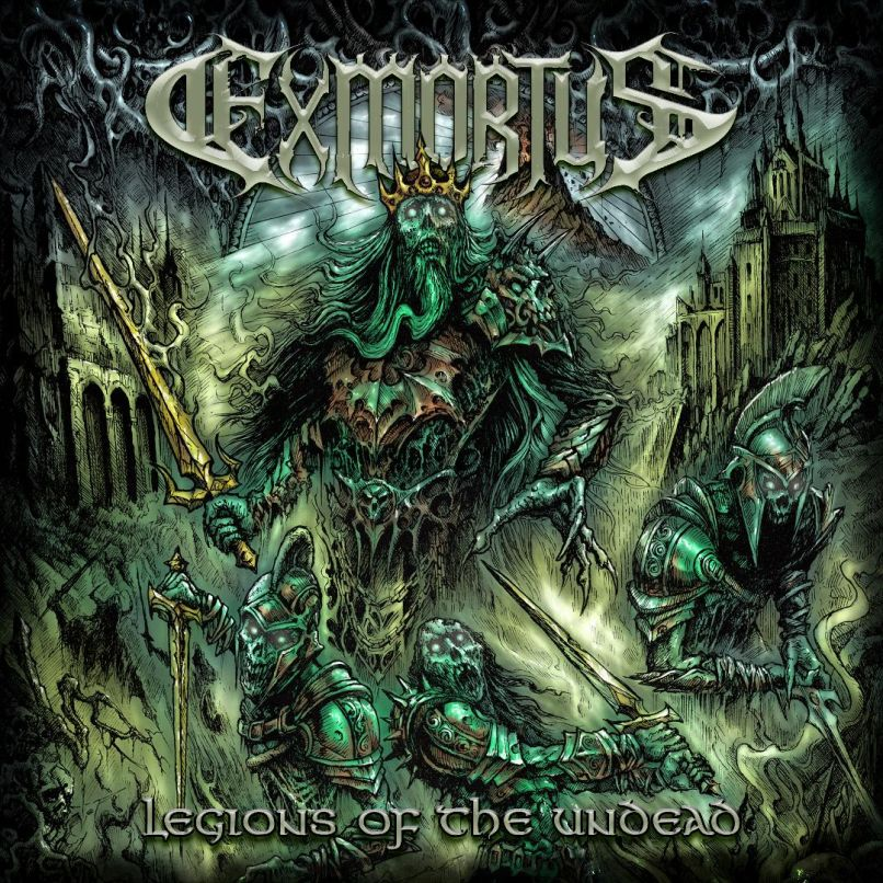 Exmortus Legions of the Undead cover