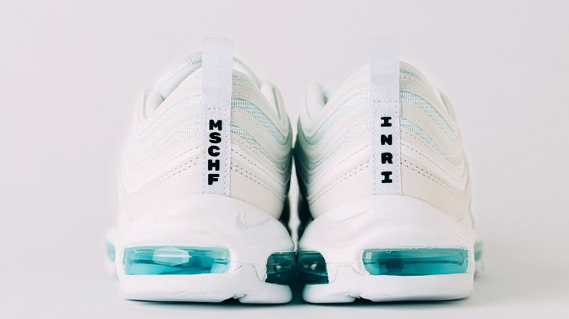 Holy Water Jesus Shoes, photo courtesy of Nike
