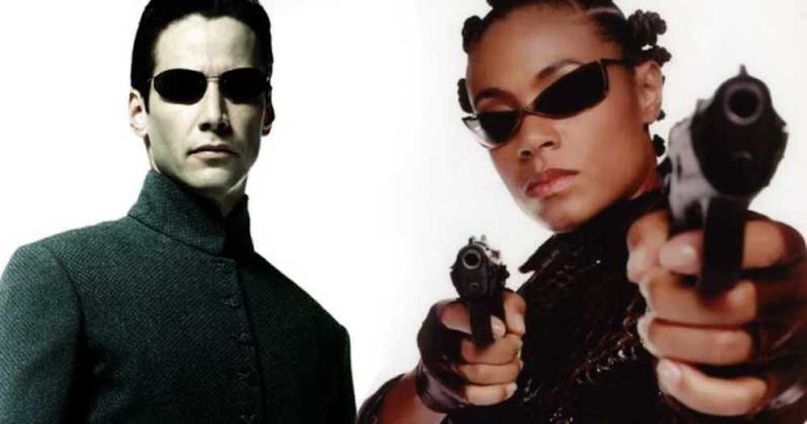 Casting The Matrix 4 Keanu Reeves and Jada Pinkett Smith in The Matrix Reloaded