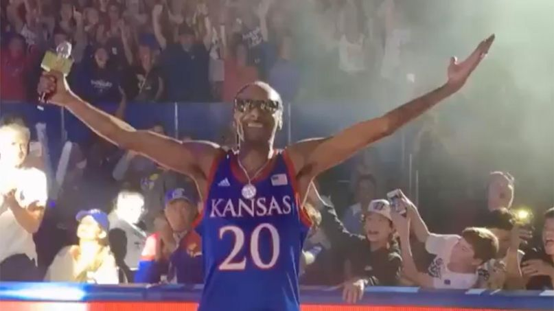 Snoop Dogg at University of Kansas
