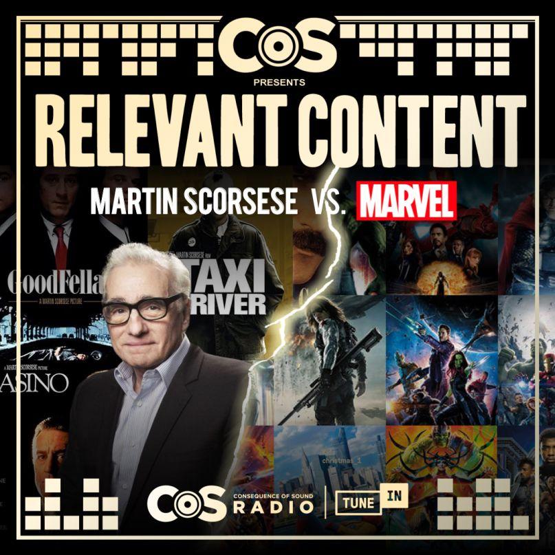 Martin Scorsese vs. the MCU
