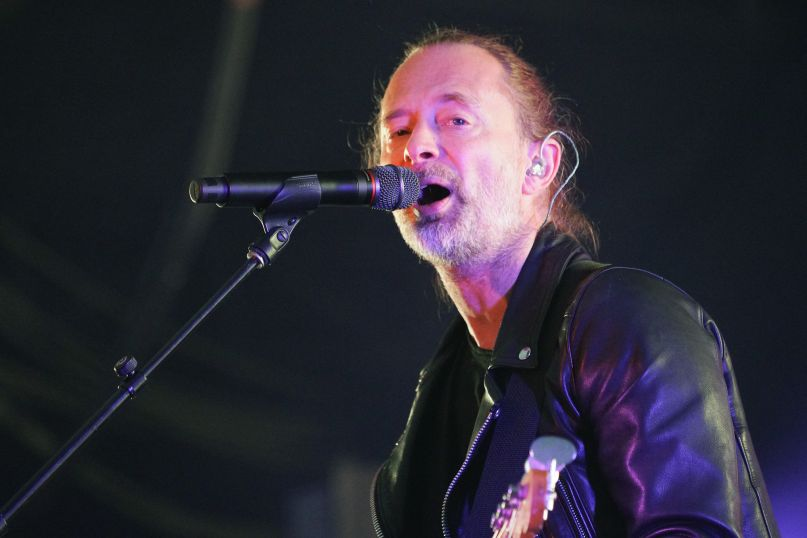 Thom Yorke's Tomorrow's Modern Boxes at Austin City Limits 2019, photo by Amy Price