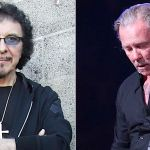 Tony Iommi offers support to James Hetfield
