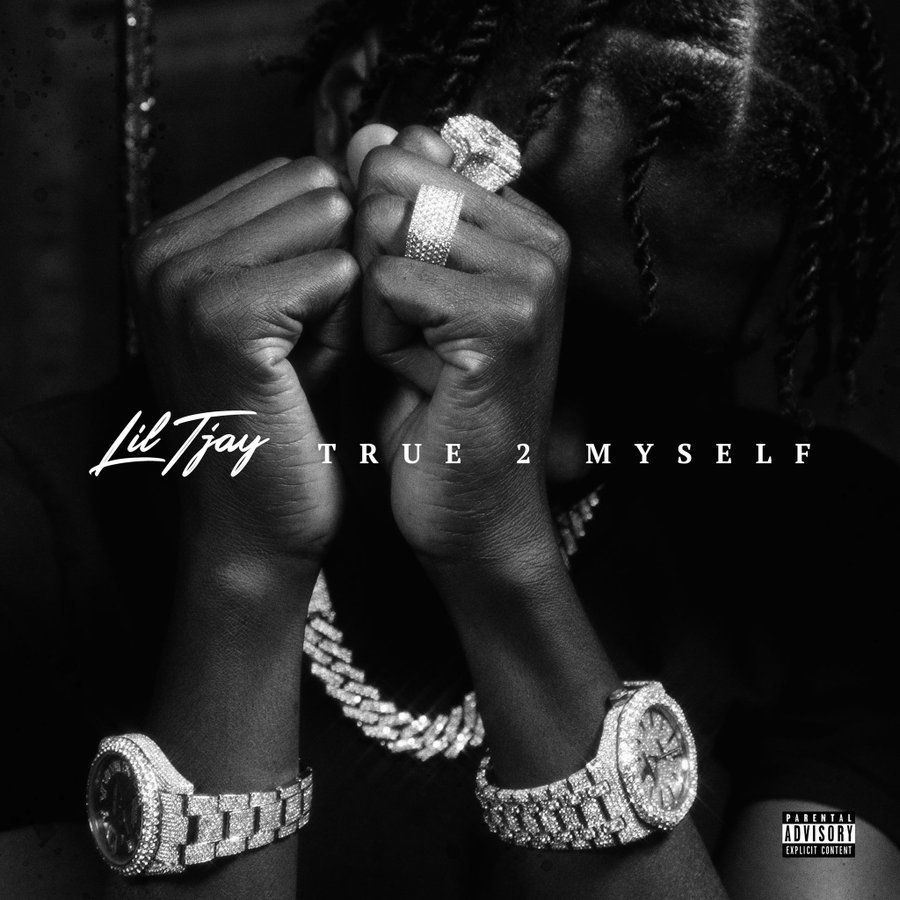 True 2 Myself by Lil Tjay tracklist album artwork cover