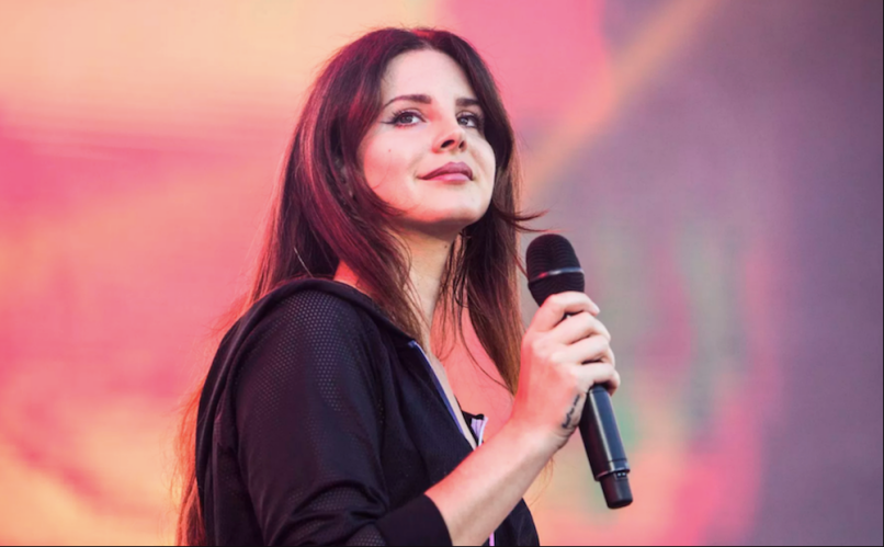Lana Del Rey Cover Joni MItchell Be Free Concert Footage Watch Stream