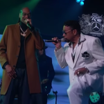 snoop dogg morris day kimmel video