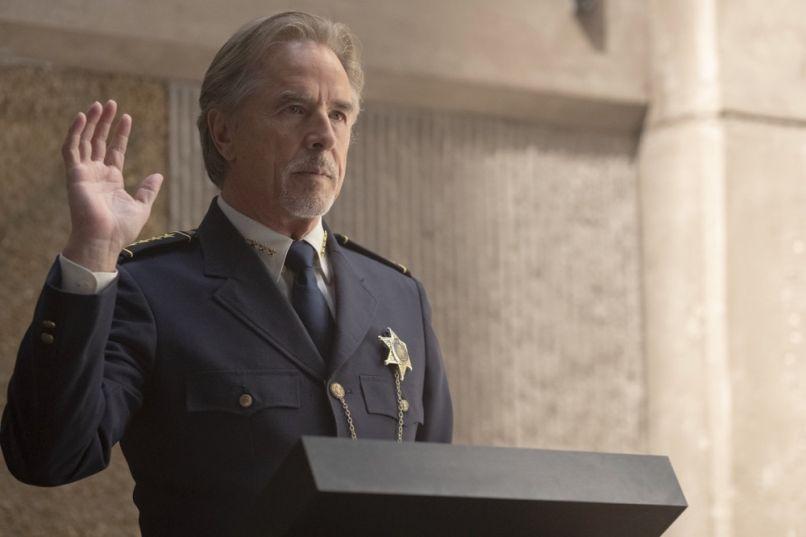 Don Johnson in Watchmen (HBO)
