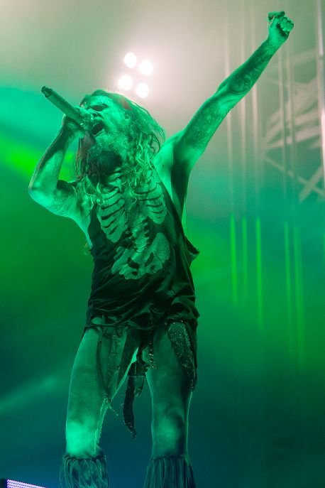 Rob Zombie at Aftershock
