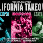 California Takeover - Strife Snapcase Earth Crisis