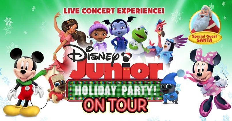 Disney Junior Holiday Dance Party