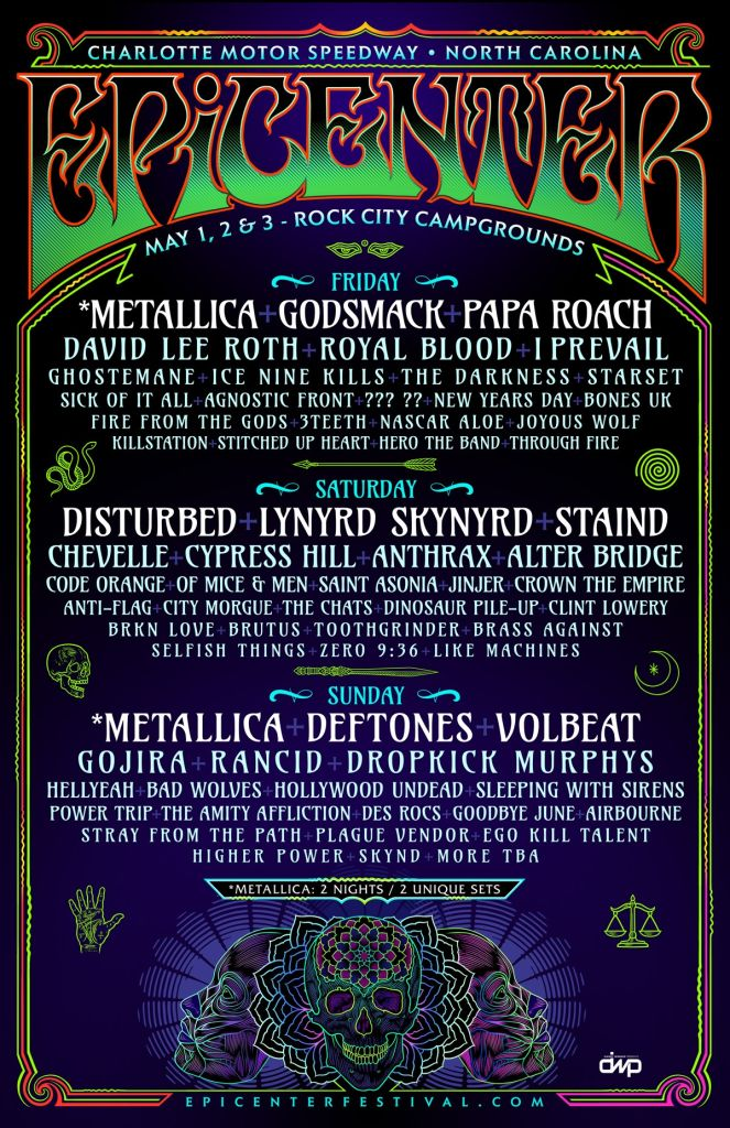 Epicenter 2020 lineup poster