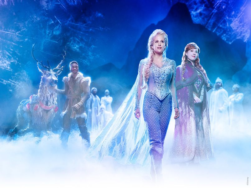 Frozen on Broadway, photo by Saint