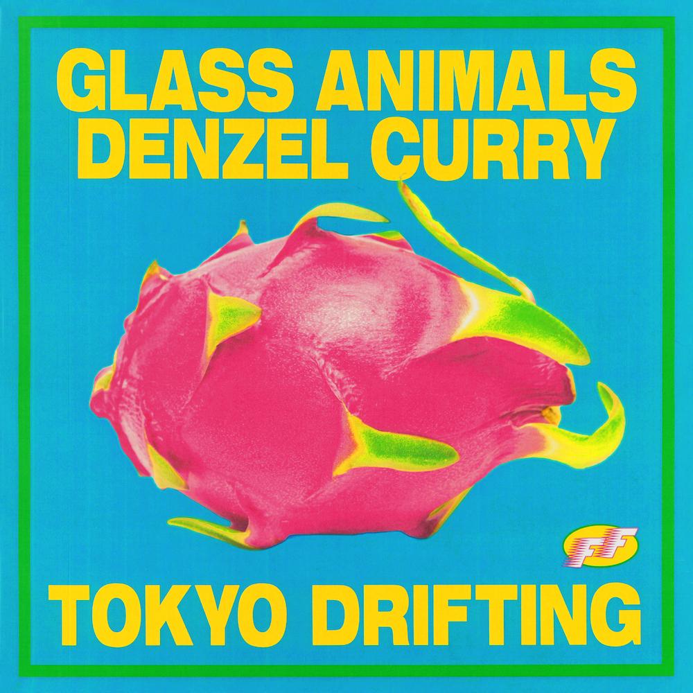 Glass Animals Tokyo Drifting Artwork