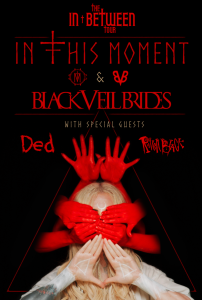 In This Moment tour poster 2020 In This Moment tour poster 2020