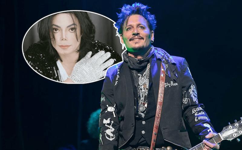 Johnny Depp Michael Jackson Musical Glove