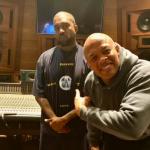 Kanye with Dr. Dre