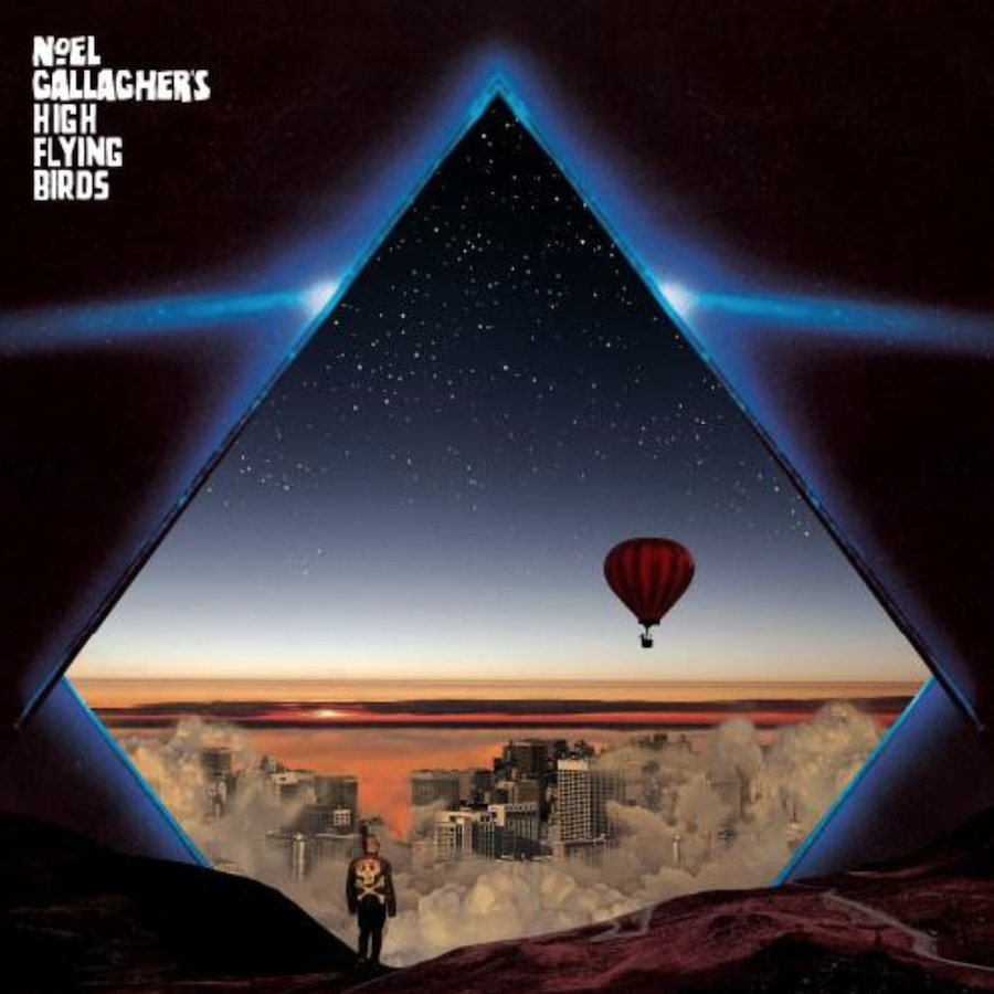 Noel Gallagher's High Flying Birds Blue Moon RisingEP Artwork