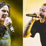 Ozzy Osbourne and Post Malone perform together