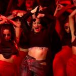Rosalia MTV Emas performance