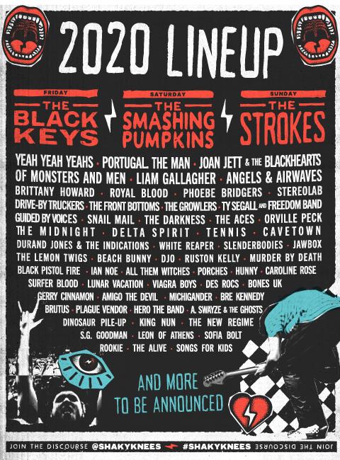 Shaky Knees 2020 lineup