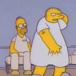 The Simpsons Michael Jackson Stark Raving Dad Leon Kompowsky