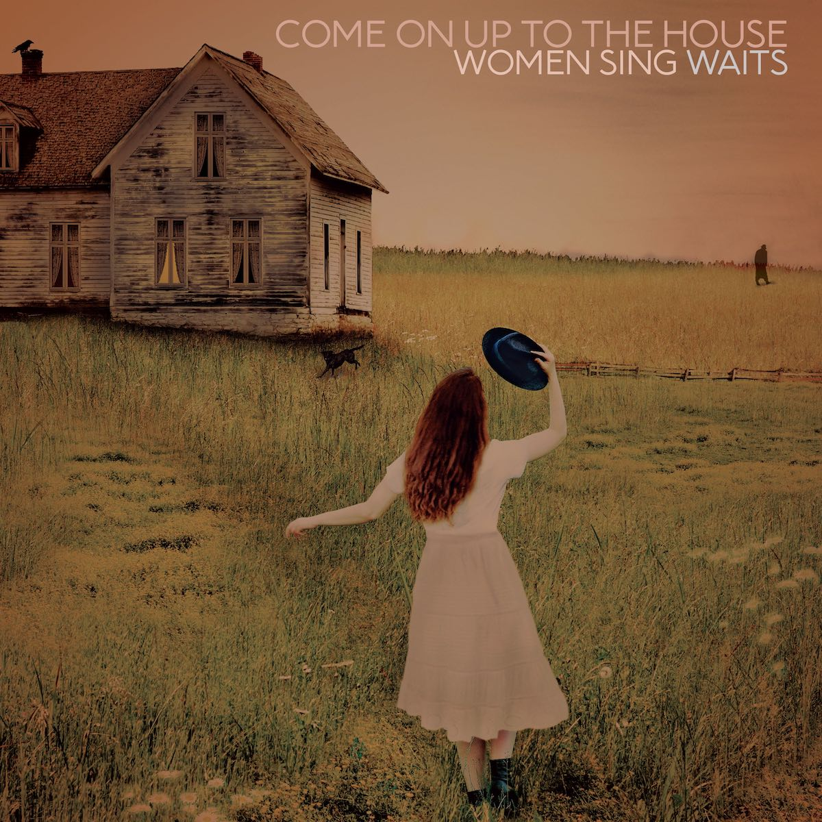 Tom Waits Tribute Album Come on up to the house women sing waits album cover artwork